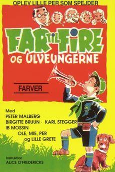 Far til fire og ulveungerne (1958) lille Per bliver spejder.