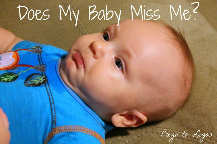 Prego to Legos: Does My Baby Miss Me? Separation Anxiety and Object Permanence