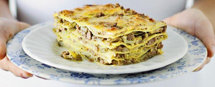 lasagne con ragù di agnello Sale&Pepe ricetta