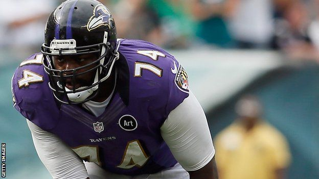 Michael Oher-RT- Baltimore Ravens