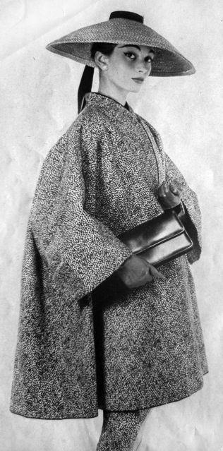 Fashion by Nina Ricci for La Femme Chic, 1956
