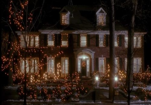 ...and of course...the 'Home Alone' house.  I wish I had the 2 million to buy this house.
