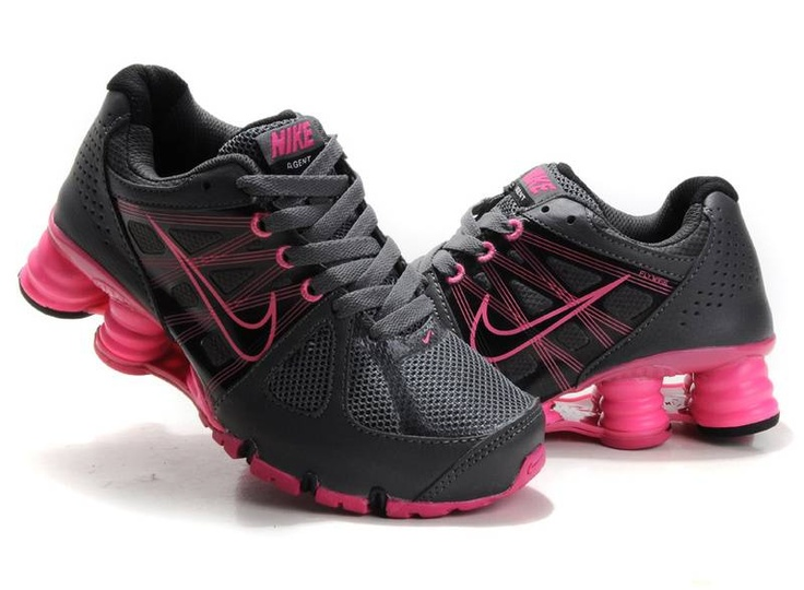 finest selection 7e934 e12d8 ... Womens Shoes Nike Air Shox, I want these shoes. Nike Shox Turbo+ 13  Womens Running Shoes FinishLine.com Wolf GreyFireberry nike shox hot pink  and black ...