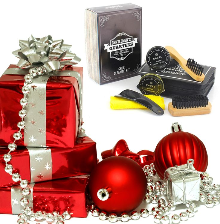 Our Vintage Style Shoe Shine Kit neatly packaged in high quality zipped Travel Case and presented in beautiful Gift Box is the perfect stocking filler gift for your dad, hubbie, brother or boyfriend :-) http://www.secretfashionfixes.ie/p/vintage-styled-shoe-shine-travel-case-kit/shoeshinkit
