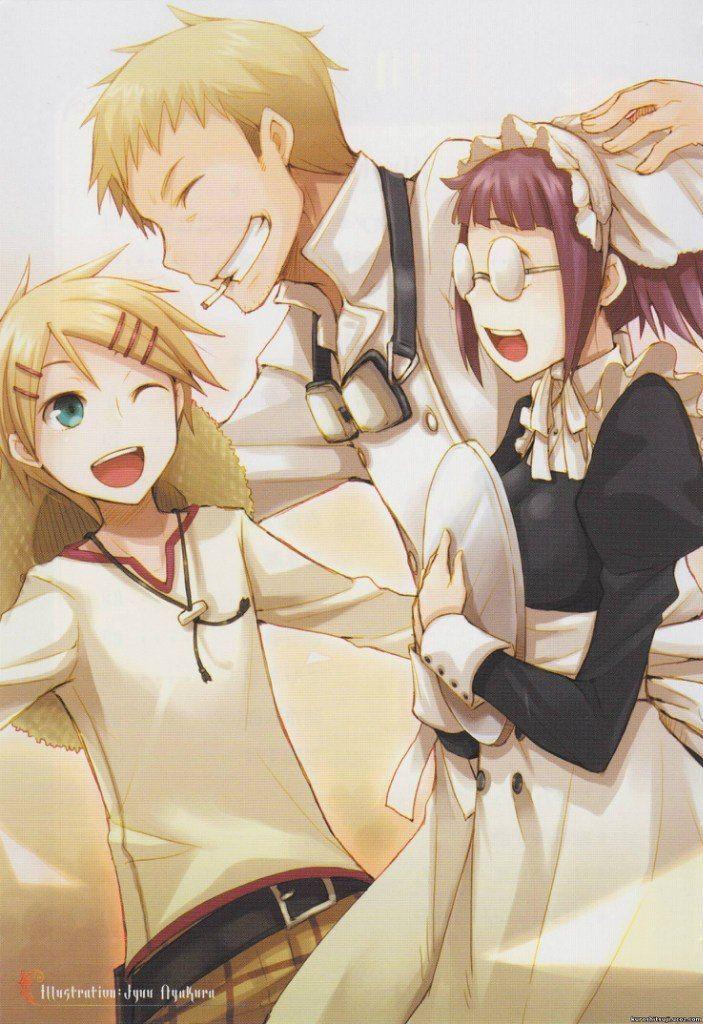 Black butler, Kuroshitsuji, Bardroy, Finnian, Meilin