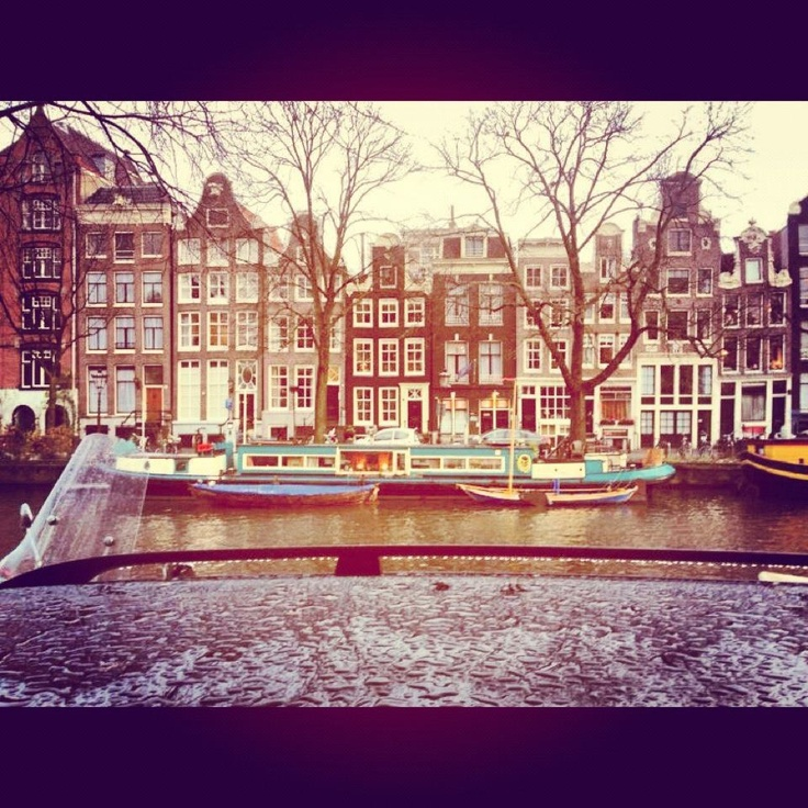 #amsterdam #boat #dutch #photography #river #colour #house