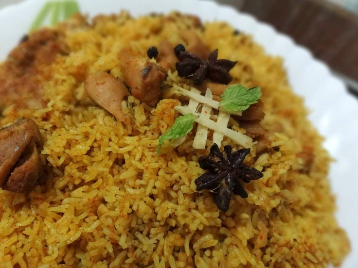 Indian Style Chicken Rice(Chicken Biryani) @http://www.threepeppercorn.com