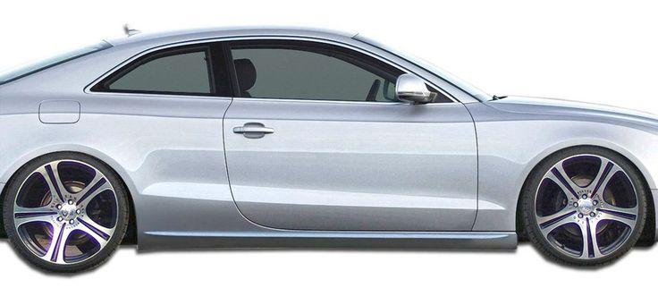 2008-2016 Audi A5 S5 2DR Convertible Duraflex S5 Look Side Skirts Rocker Panels - 2 Piece