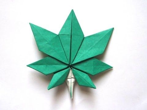 How to Origami a maple leaf « Origami :: WonderHowTo