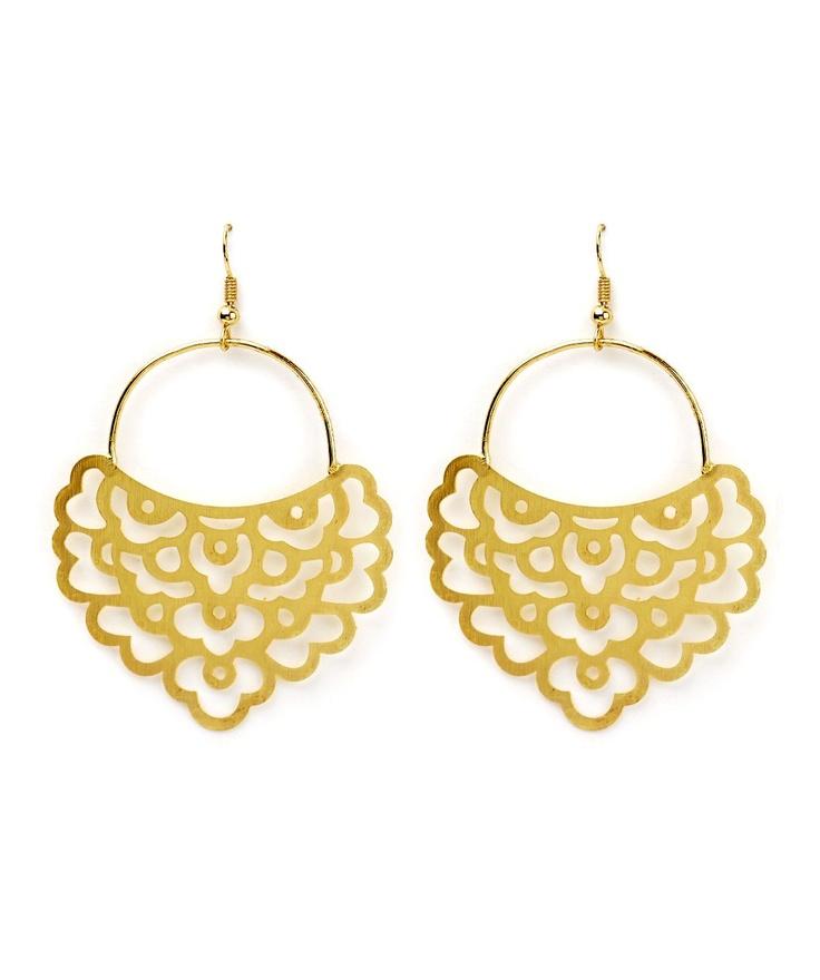 A-Maze Earrings @ www.juvalia.in