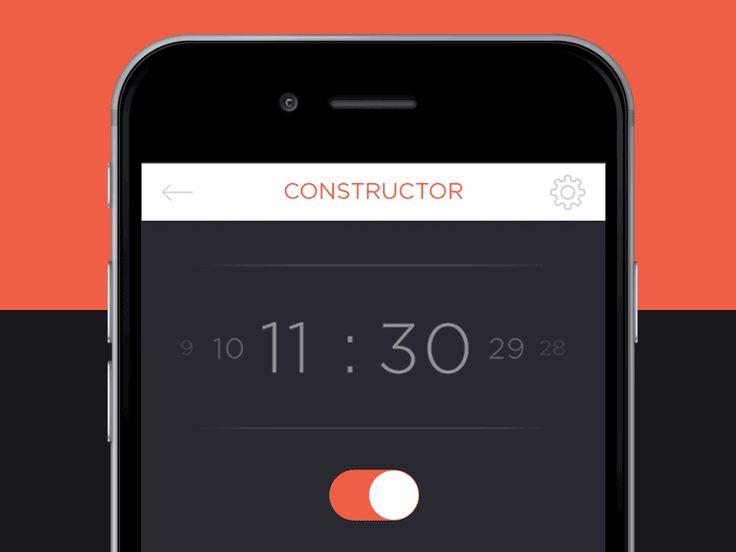 Timer for App by Elena Saharova
