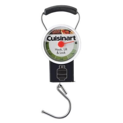 It's one of those handy gadgets that he or she never gets around to buying. If the backyard cook in your life uses propane tanks, this simple tool is SO helpful.
