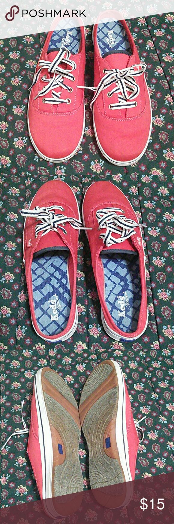 Keds Sport Red women MulEs/clogs Size 9 Red Keds sport shoes, good for casual wear and walking. Keds Shoes Mules & Clogs