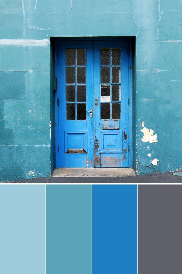Beautiful Moody Blue Color Palette Interior Design Home Decor