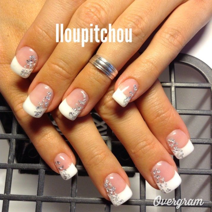 Image Maryline D Co D 39 Ongle En Gel Manucure Pinterest Photos