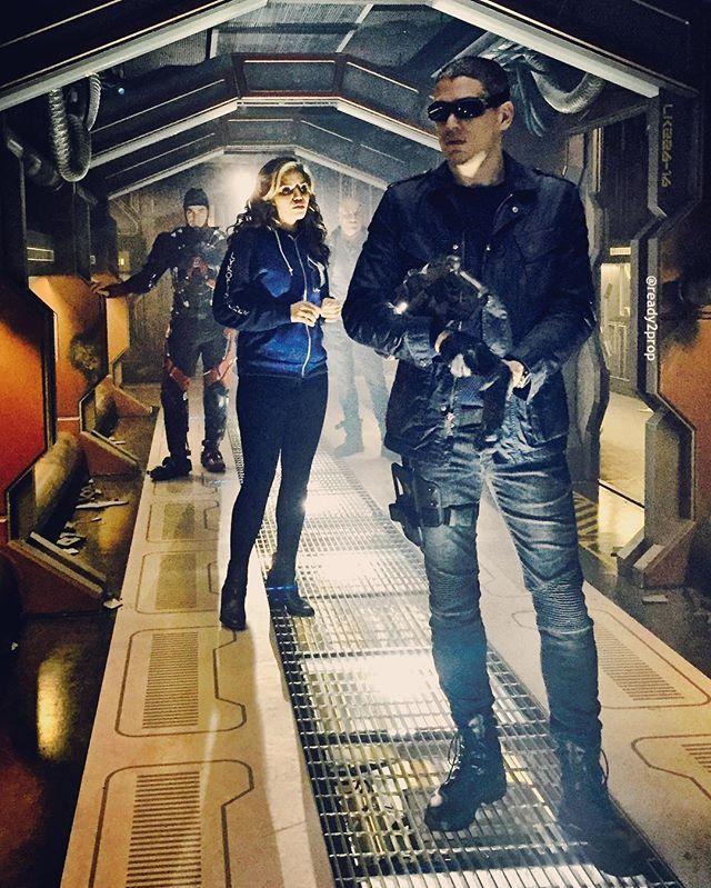 Hawkgirl Atom Captain Cold