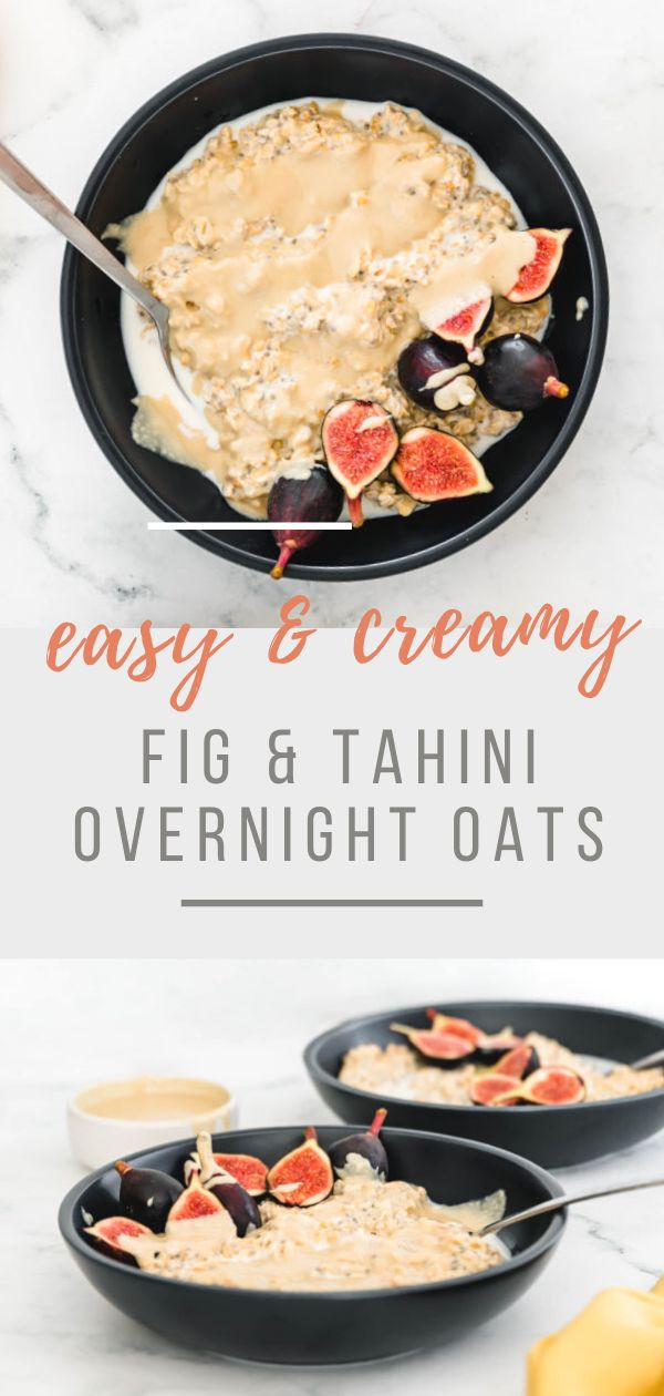This Fig & Tahini Overnight Oats recipe is full of flavour & is a wonderful way to start a day. It is a creamy & healthy…