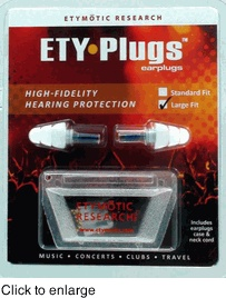 Etymotic ER20-CCC-C Hi-Fi Musicians Ear Plugs  ... really will need these for the 2 day in a row ACID MOTHERS TEMPLE trip to seem AMT in Madison and then Chicago.  Ears rang for days after seeing them once last year.
