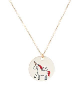 Unicorn Picture Pendant