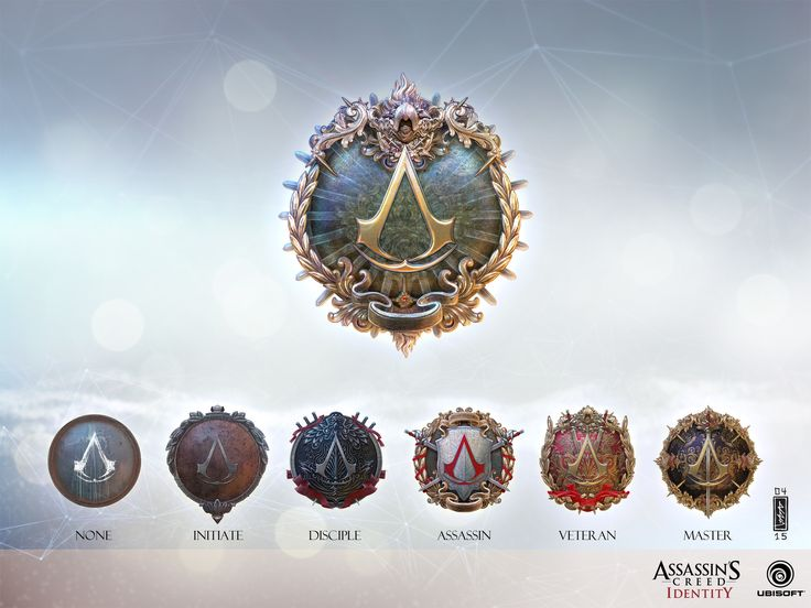 ArtStation - Assassin's Creed Identity Rank emblems, Andi Drude