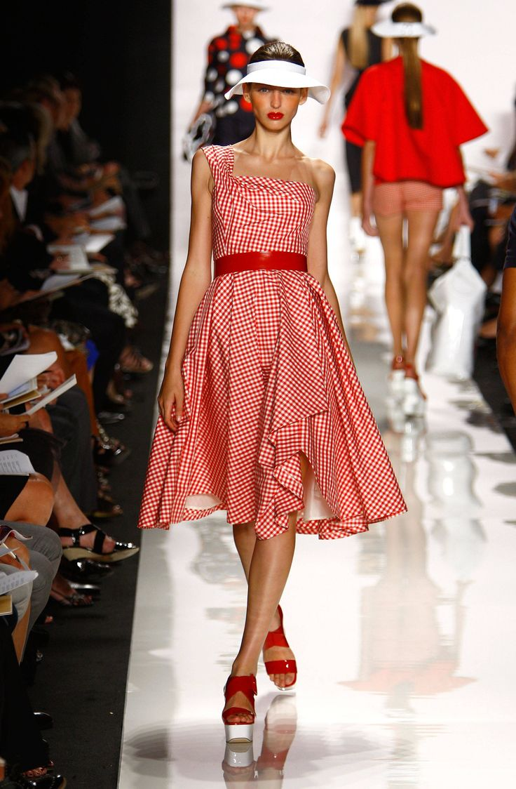 Red Gingham Dress