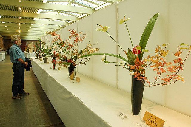 Ikebanas exposicion: Interior, Ikebanas Exposicion, Flower Arrangements, Hoa Nội, Photo