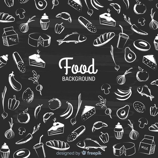 Download Blackboard Food Background for free Food backgrounds Menu design template Restaurant quotes