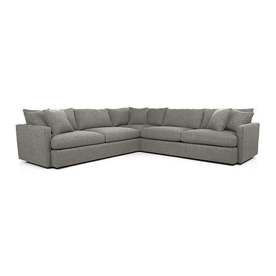 lounge ii 3piece sectional sofa
