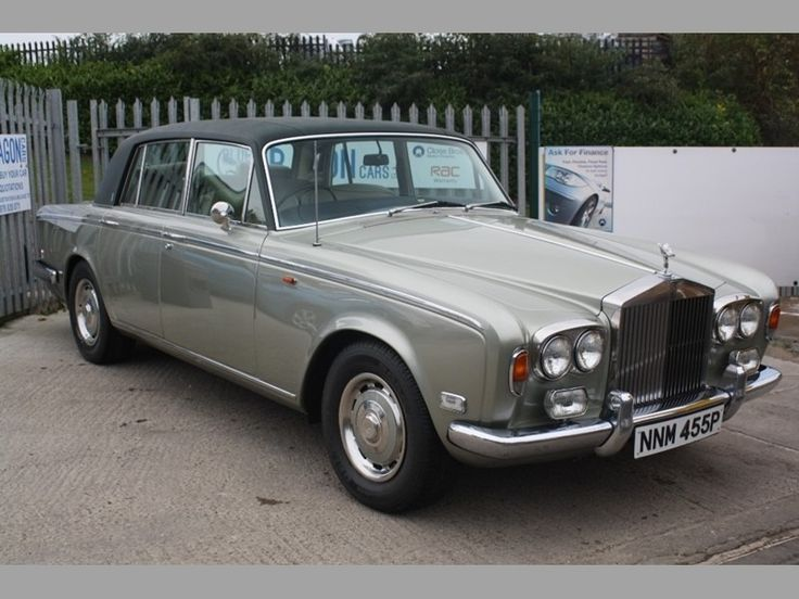 1976 Rolls-Royce Silver Shadow 1