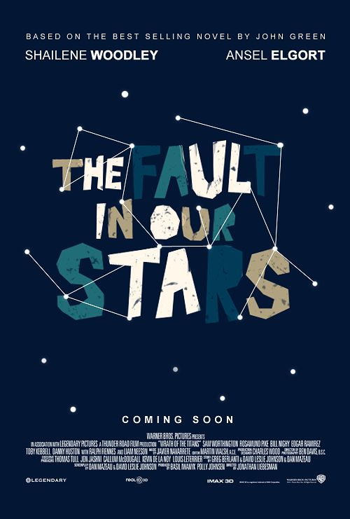 The Fault in Our Stars fan-made movie poster. | Movies and ...