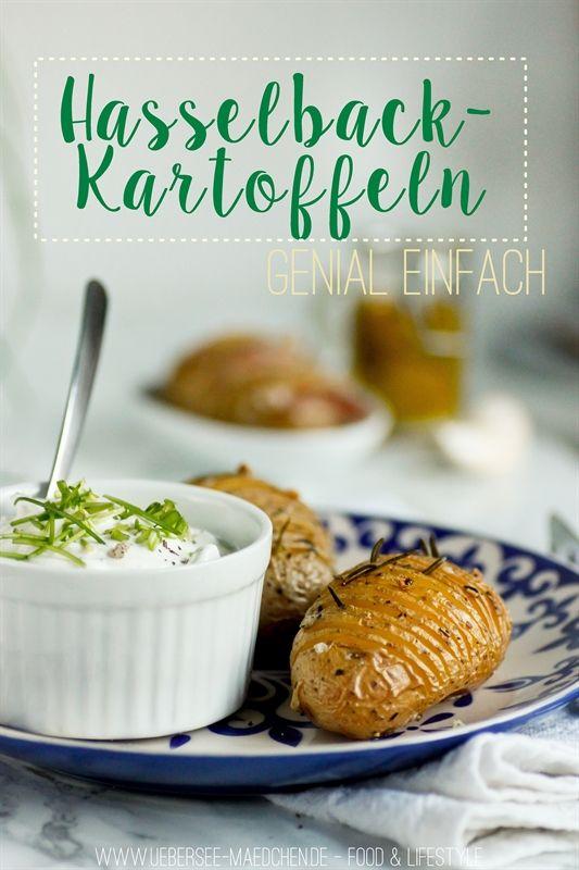 Rezept für Hasselback-Kartoffeln, einfach aber genial. Kartoffeln mal anders, als Fächerkartoffel werden sie zur spannenden Beilage oder zum Hauptgericht.