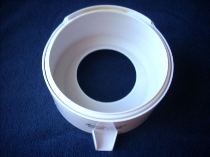 Jack LaLanne Power Juicer Receptacle Spout CL-003AP White Replacement Part Only #JackLaLanne