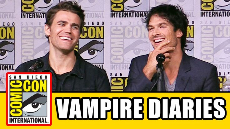 THE VAMPIRE DIARIES Comic Con 2016 Panel Highlights (Part 1) - Ian Somer...
