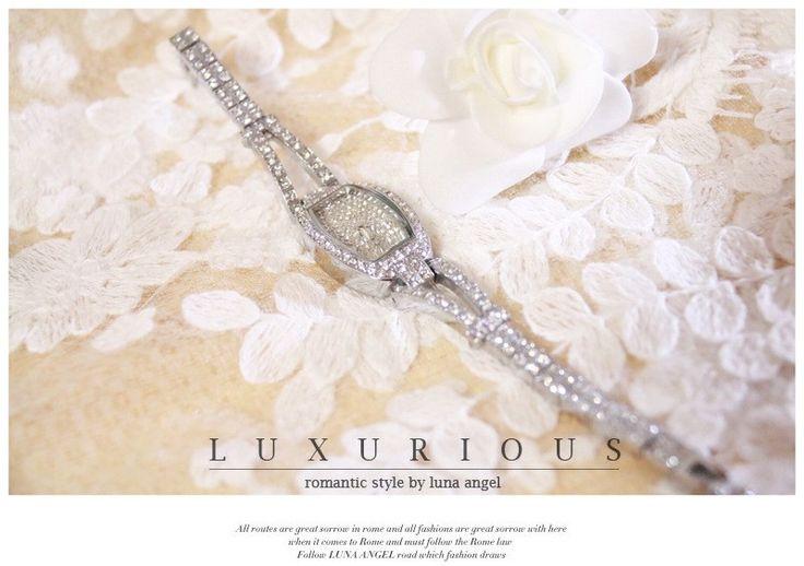 2016 new fashion,high quality,women's Elegant watch,Austraila Diomand Luxury Watch, DressWatch, bangle Bracelet ,quartz watches