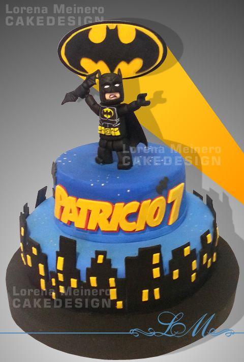 Torta Cake Design Batman : Mas de 25 ideas increibles sobre Tortas de batman de lego ...
