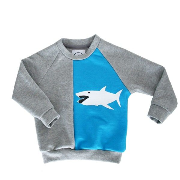 "Sweatshirt ""Mati""  light grey  with print  www.snice-kidswear.de"
