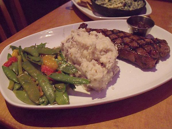 New York Strip at House of Blues Crossroads Restaurant at Downtown Disney - Anaheim, California