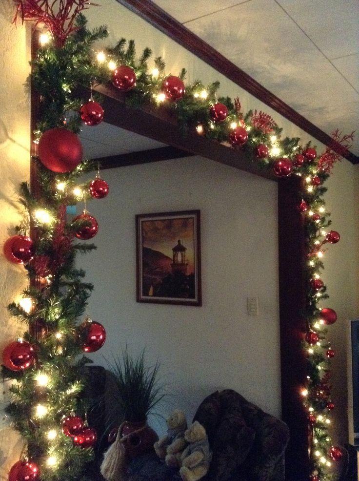 .decoración  de navidad dentro de casa