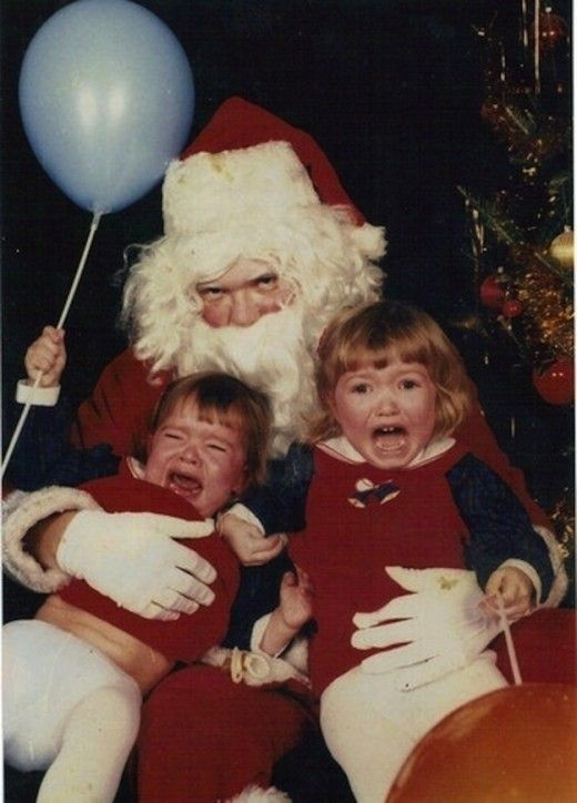5 Acutely Troubling Santa Encounters--a terrifying cautionary tale for any child ready to climb on The Big Man's lap.