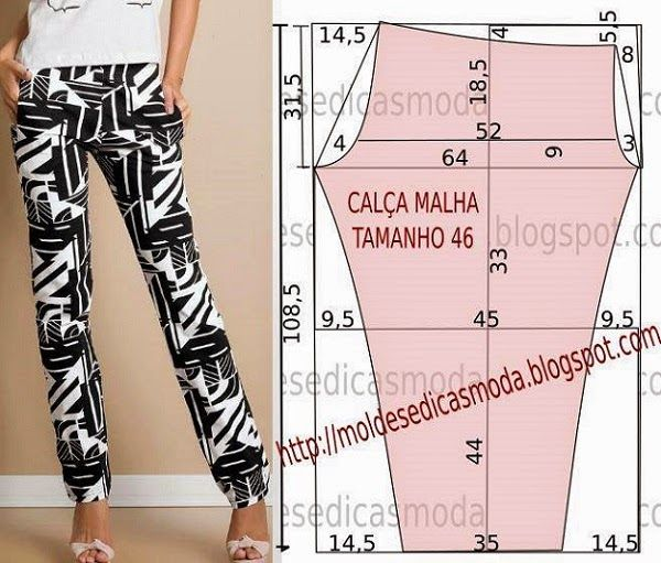 Printed pants mold