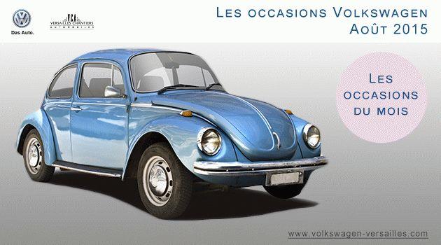 Les occasions Volkswagen à Versailles du mois d'août. #occasion #voiture #volkswagen #versailles #vca #garage