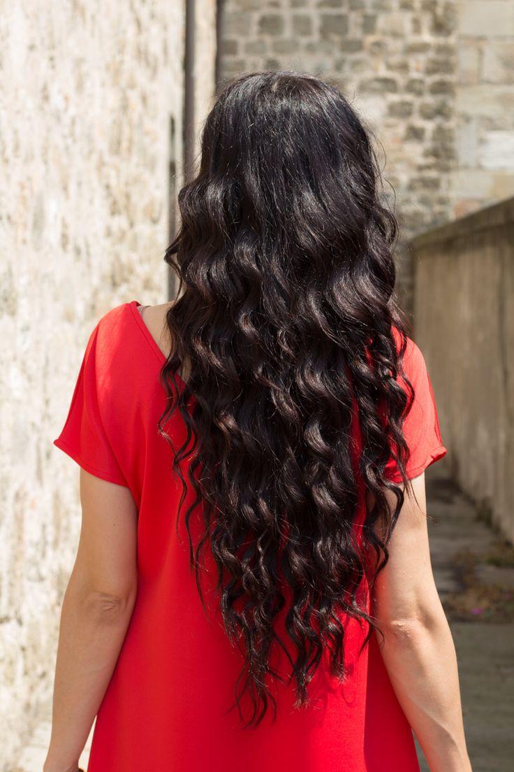 Ricci perfetti con #IrresistibleMe #curlingwand #capelliricci #hair #longhair #beautiful #hairstyle #curlyhair