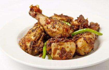 Pepper chicken by Alfred Prasad