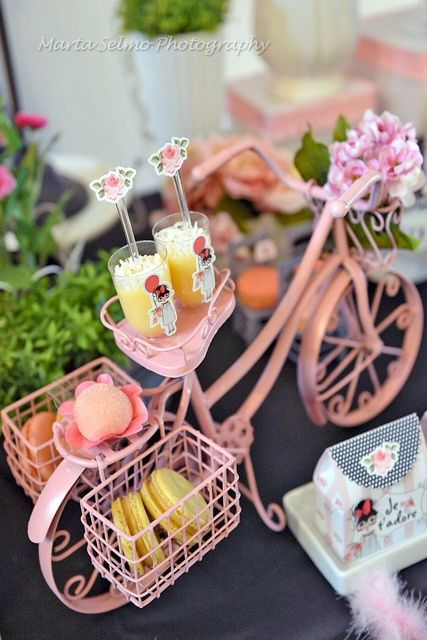 Paris Birthday Party Ideas | Photo 8 of 31 | Catch My Party