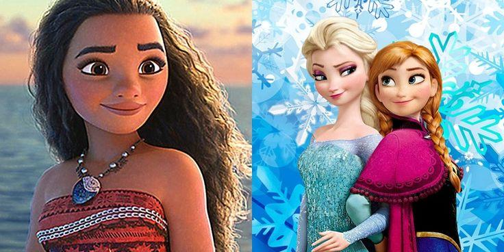 Moana ultrapassa Fronzen e vira animação da Disney mais vista no Brasil