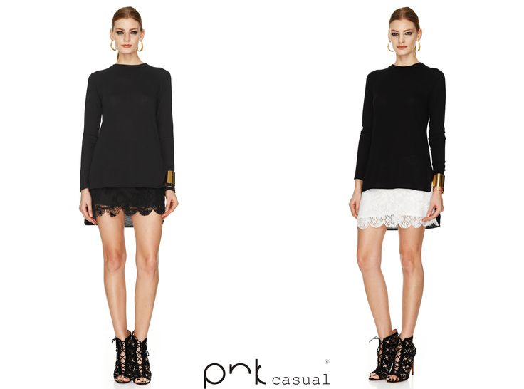 Friday+PNK casual lace short skirt+Party=Perfect combination  #pnkcasual #cool #fashion #happiness