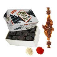 Send Rakhi and Imported Dates to make it special and joyous.