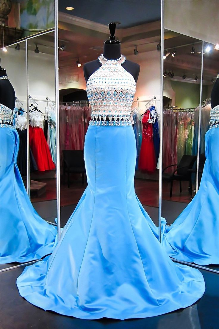 17 best Light Blue Prom Dresses images on Pinterest | Formal dresses ...