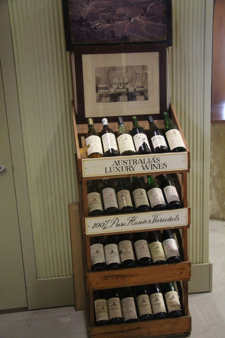 So much Australian wine history at Audrey Wilkinson #wine #australianwine #hunterwine