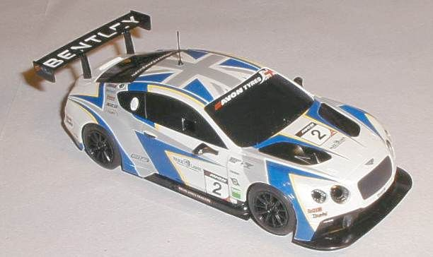 Scalextric car C3515 Bentley Continental GT3 for sale
